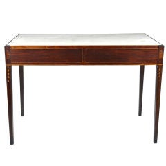 Exceptional Walnut Hepplewhite Console Table