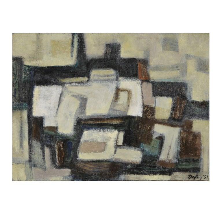 Oil on Canvas by Leonard Nelson