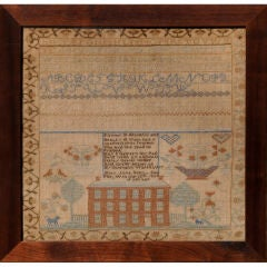 Mary Jane Scott's Sampler
