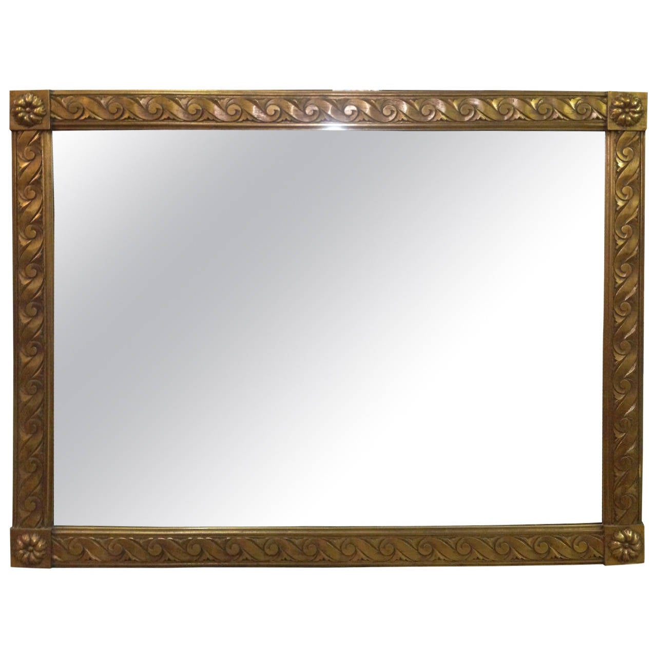 Gold gilt mirror for sale at 1stdibs for What is a gilt mirror
