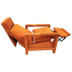 Adjustable Reclining Chair In The Style Of Finn Juhl For