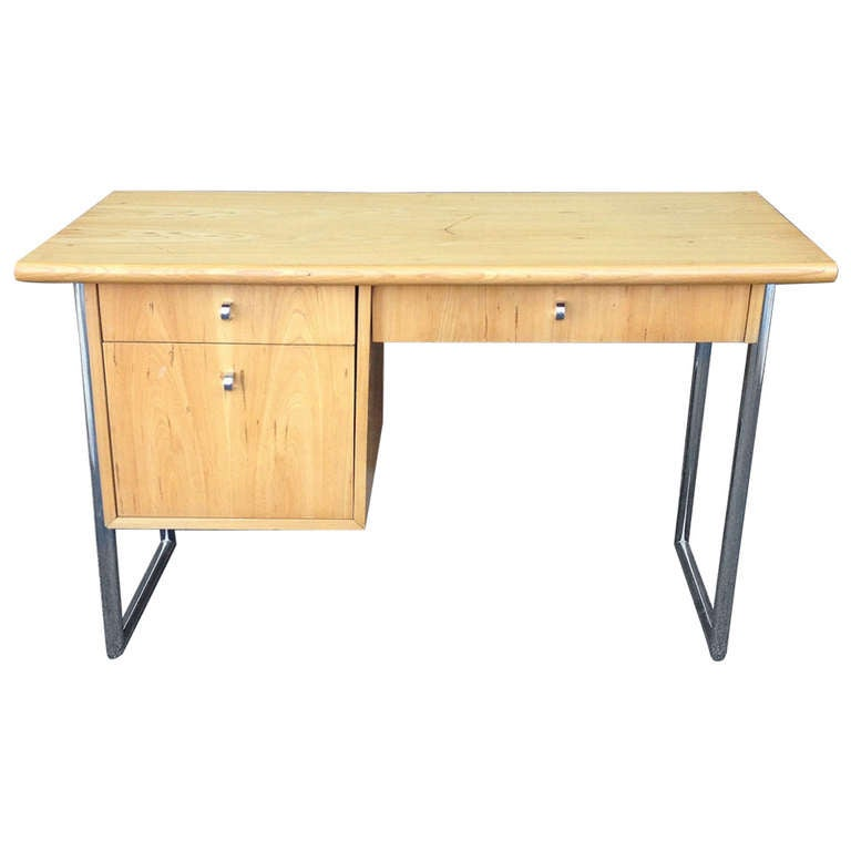 Floating mid century modern desk by jack cartwright for for Floating desk for sale