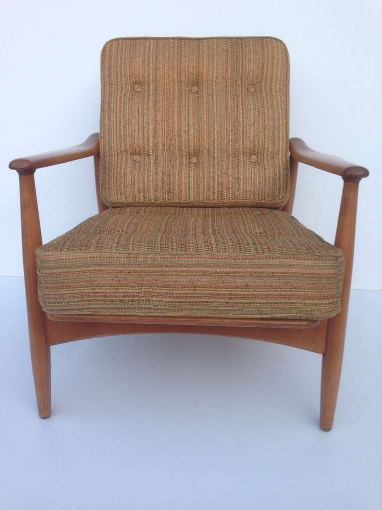 Adjustable Reclining Chair in the style of Finn Juhl 3 & Adjustable Reclining Chair in the style of Finn Juhl For Sale at ... islam-shia.org