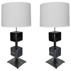 Pair of Feliciano Bejar Magiscope Table Lamps