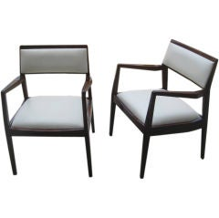 Pair or Set of Four Knoll Armchairs
