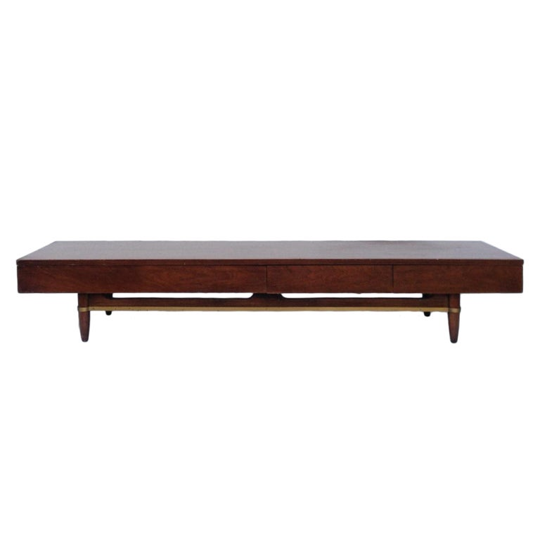 Stunning Widdicomb Style Low Low Console Cabinet 1
