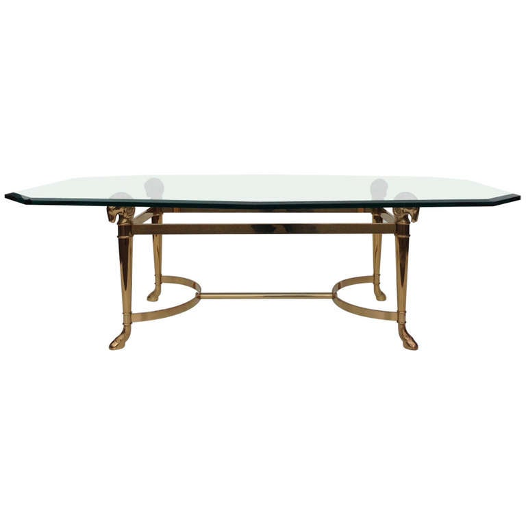Hollywood Regency Cocktail Table