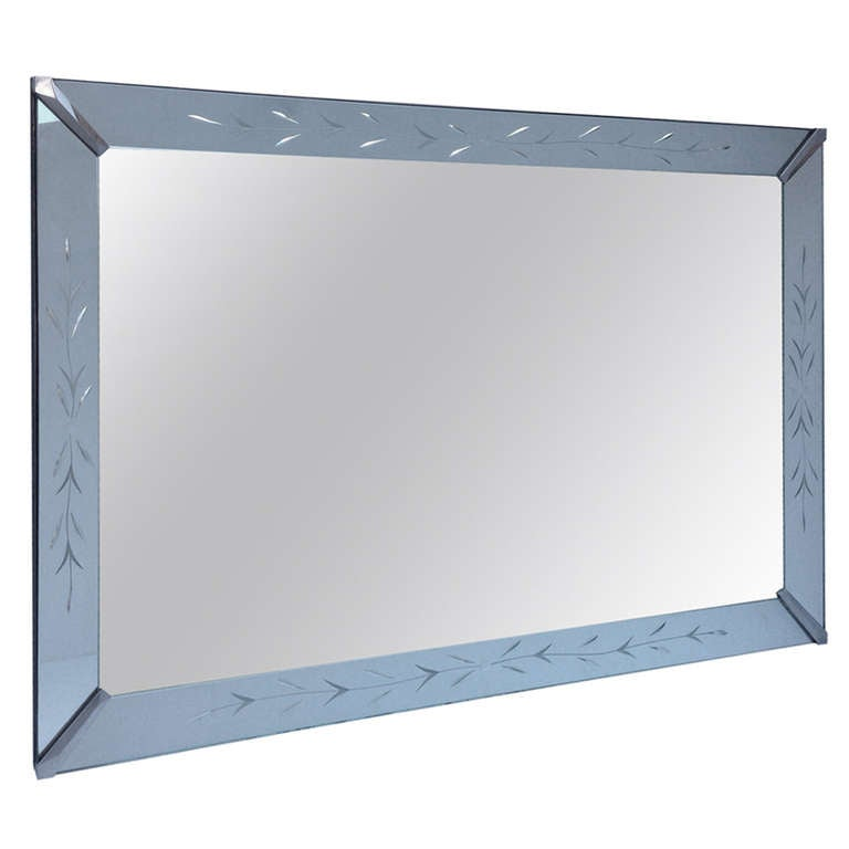 Rectangular Clean Line Shadow Box Mirror