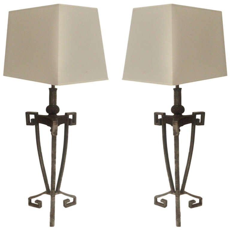 Pair of Table Lamps by Arturo Pani