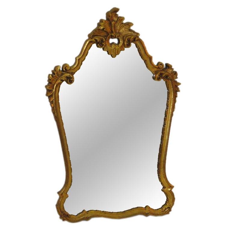 Hollywood Regency Gilt Mirror after LaBarge