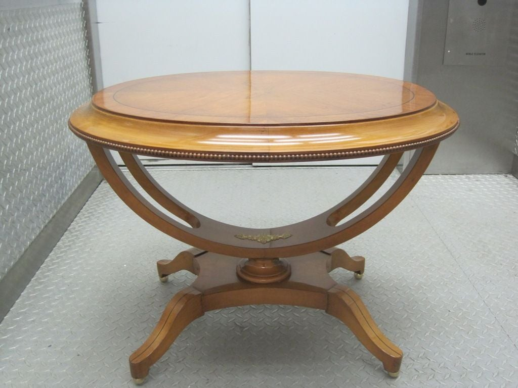 Pair of Exceptional Oval End Tables 2