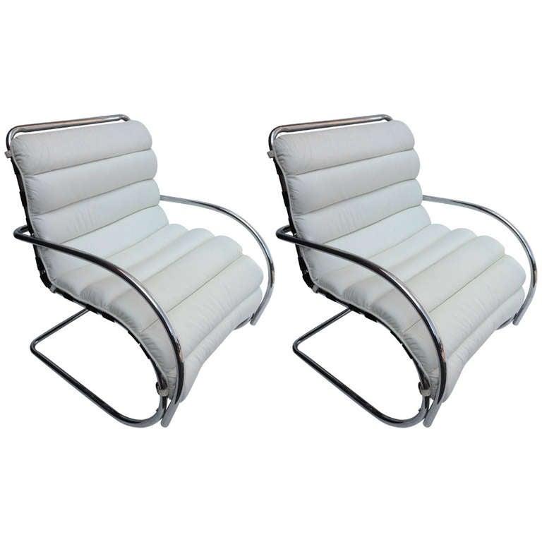 Pair of Chairs after Mies van der Rhoe