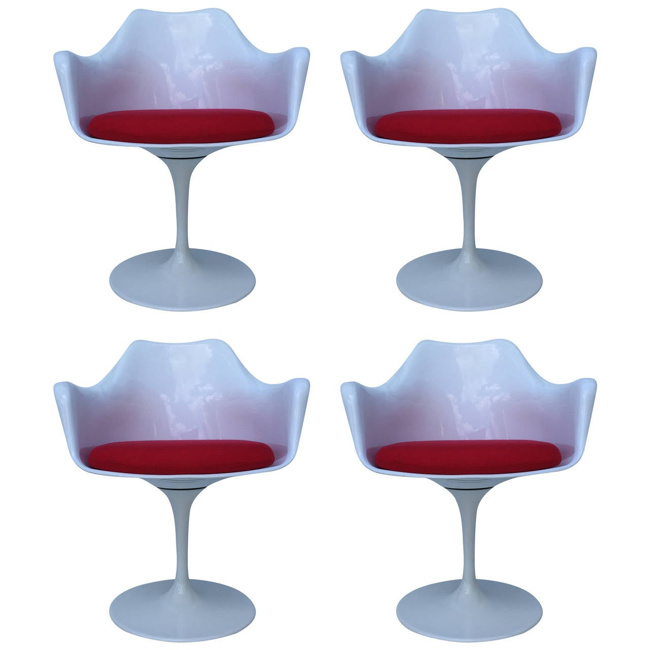 Four italian tulip chairs for sale at 1stdibs - Tulip chairs for sale ...