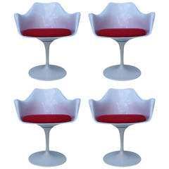 Four Italian Tulip Chairs