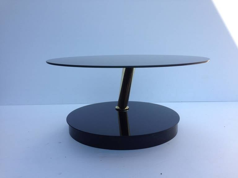 Mid-Century Modern Accenttric Side or Cocktail Table For Sale