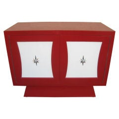 Most Beautiful Red Commode Dresser after Grosfeld House