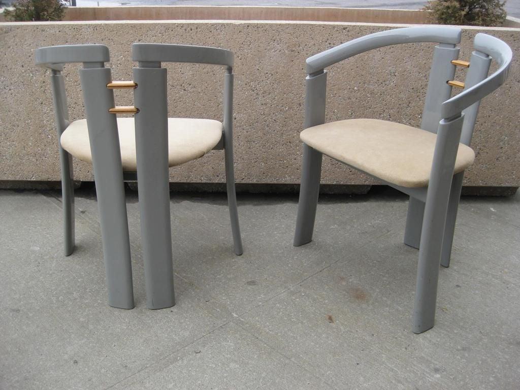 Pair of Ultra-Modern Chairs after Ib Kofod-Larsen 3