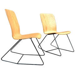 Pair of Rocking Bentwood Chairs