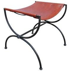 Single Leather Sling Bench After Hermes