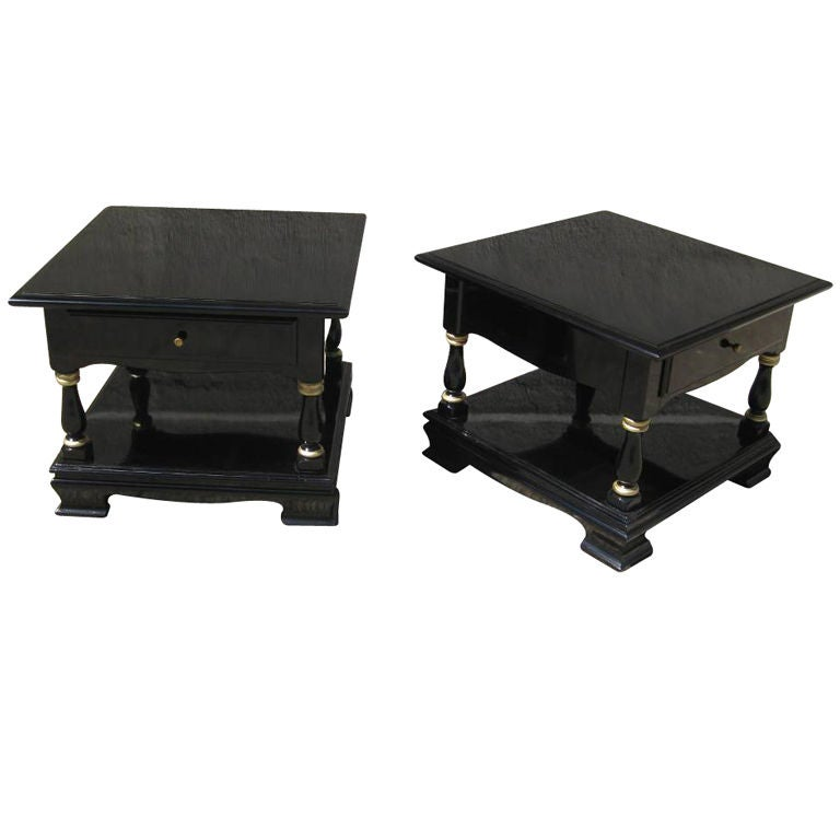 Pair Of Cocktail And Or Low End Tables 1