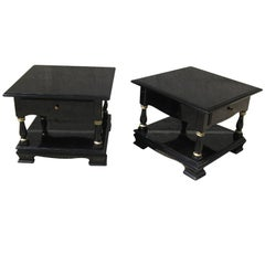 Pair of Cocktail and or Low End Tables