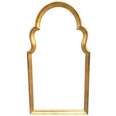 Gold Gilt Mirror in the Style of Labarge