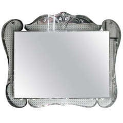 Large Hollywood Glamour Mirror