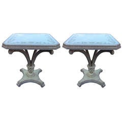 Large End Tables in the Manner of Grosfeld House