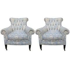 Ralph Lauren Club Chairs