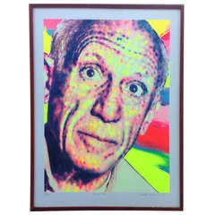 Picasso Monumental Serigraph by Richard Bernstein