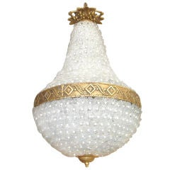Tear Drop Floret Chandelier