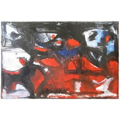 Four Abstract Paintings by David Passalacqua
