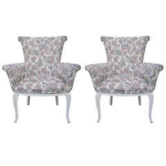 Pair of Art Deco Regal Chairs