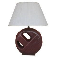 Single Ceramic Lamp