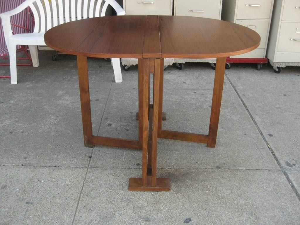 The thin folding dining table at 1stdibs for Folding dining room table