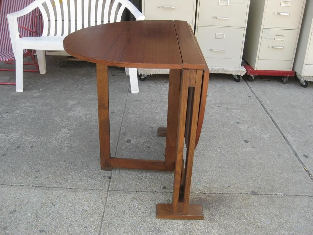 The thin folding dining table at 1stdibs - Folding dining table ...
