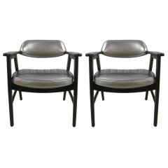 Pair of Chairs after Edward Wormley