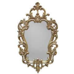 White Gold Hollywood Mirror