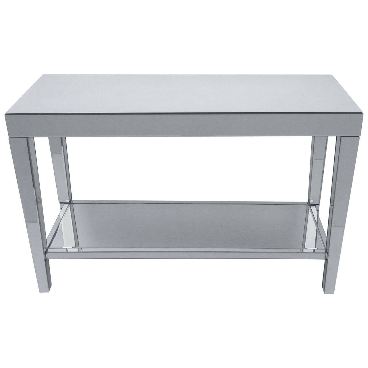 mirrored console end tables and mirror set at 1stdibs