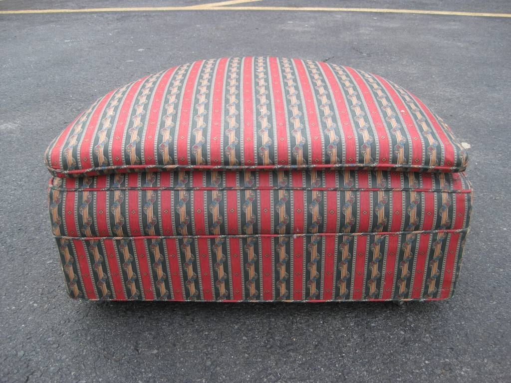 Demilune Rolling Ottoman For Sale At 1stdibs