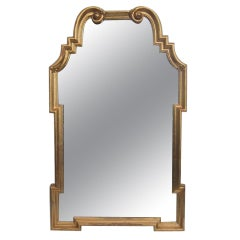 Gold Gilt Italian Mirror Attributed to La Barge