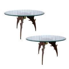 Pair of Eli Sotelo End Tables