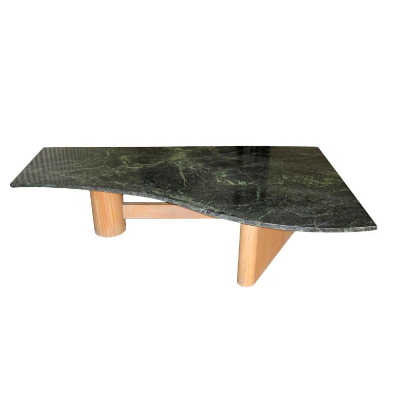 Free form marble cocktail table for sale at 1stdibs for Cocktail tables for sale used