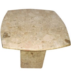 Single Marble Side End Table