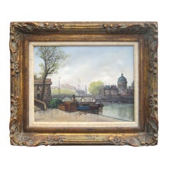 Parisian Scene by A Lambert