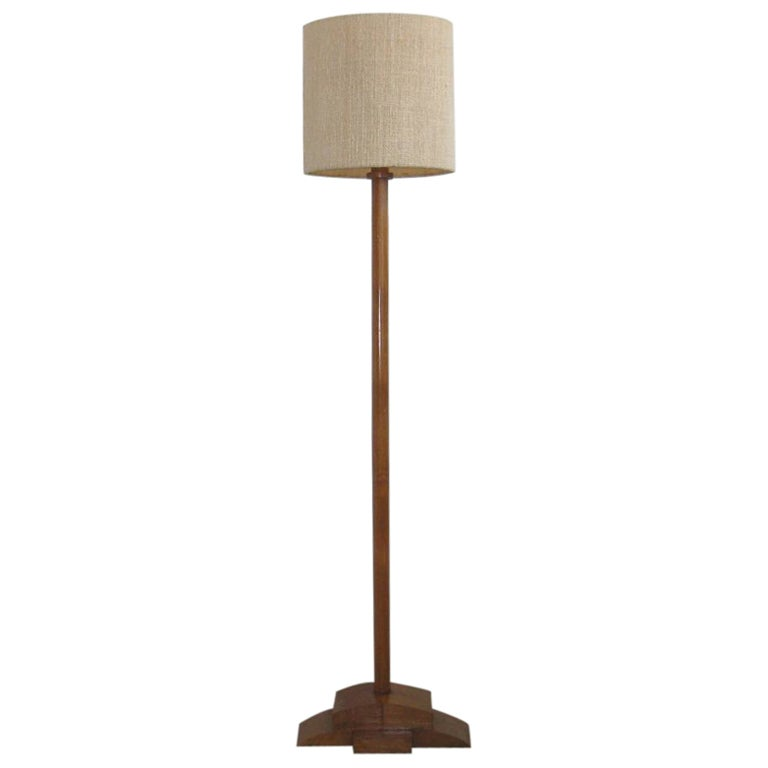 Art Deco Floor Lamp At 1stdibs