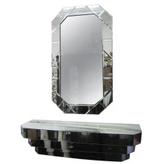 Single or Two Mirrors and Wall Mount Console Sets