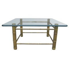 Mastercraft Attributed Cocktail Table