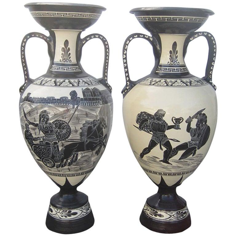 Extra Large Romanesque Vases