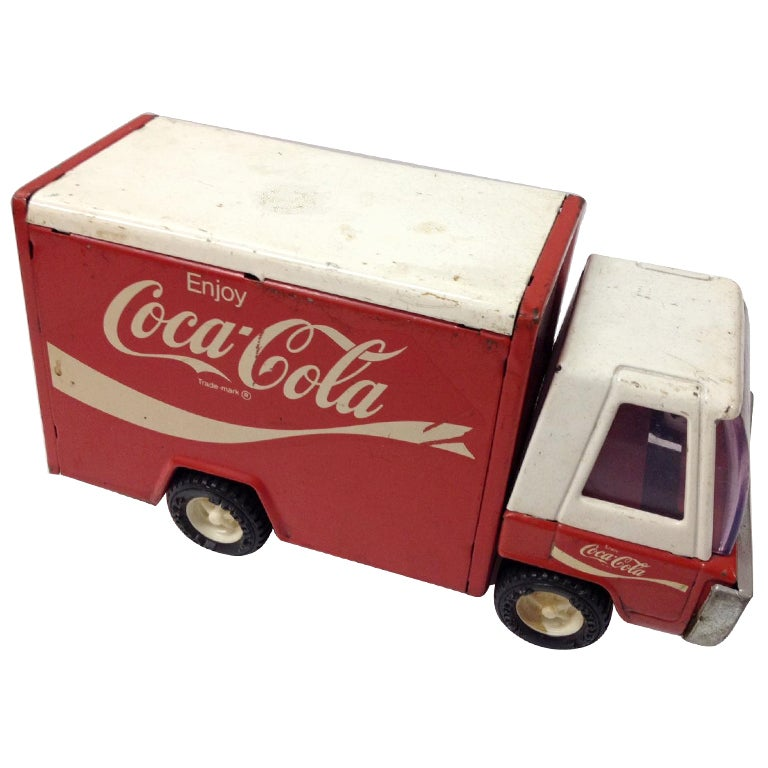 Coca Cola Vintage Metal Truck for Christmas